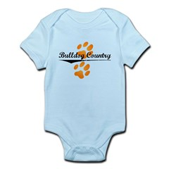 Bulldog Country Infant Bodysuit