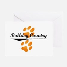 Bulldog Country Greeting Card