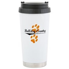 Bulldog Country Stainless Steel Travel Mug