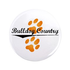 """Bulldog Country 3.5"""" Button (100 pack)"""