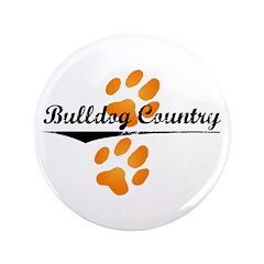 """Bulldog Country 3.5"""" Button"""
