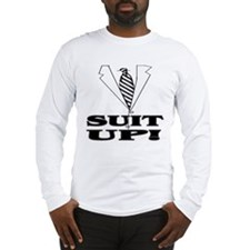 Suit Up! Long Sleeve T-Shirt