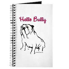 Hello Bully Logo Journal