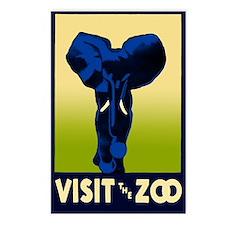 Visit the Zoo - Postcard - 8pk.