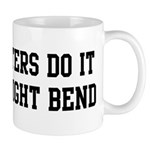 Do it with a slight bend Mug