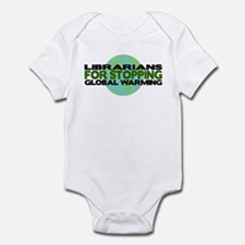 Librarians Stop Global Warming Infant Bodysuit