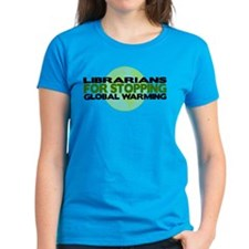 Librarians Stop Global Warming Tee