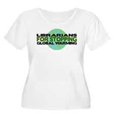 Librarians Stop Global Warming T-Shirt