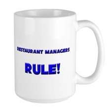 Restaurant Managers Rule! Mug
