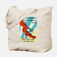 """Dems Unfavorable"" Tote Bag"
