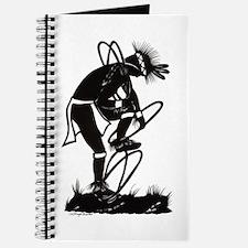Journal Native American Silhouette Hoop Dance