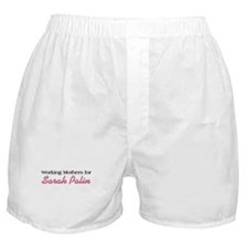 Working Mothers for Palin Boxer Shorts