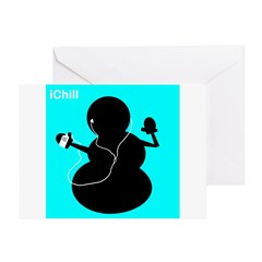 ichill Greeting Card