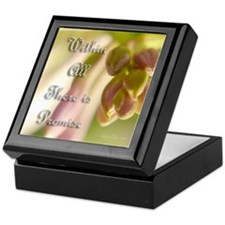 Within All There Is Promise Keepsake Box