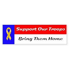 Troops Bumper Bumper Sticker