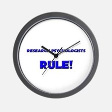 Research Psychologists Rule! Wall Clock
