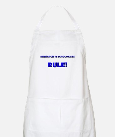 Research Psychologists Rule! BBQ Apron