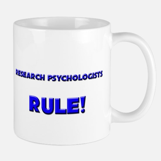 Research Psychologists Rule! Mug