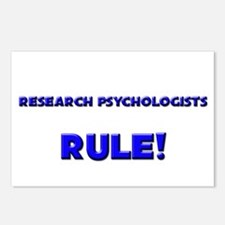 Research Psychologists Rule! Postcards (Package of