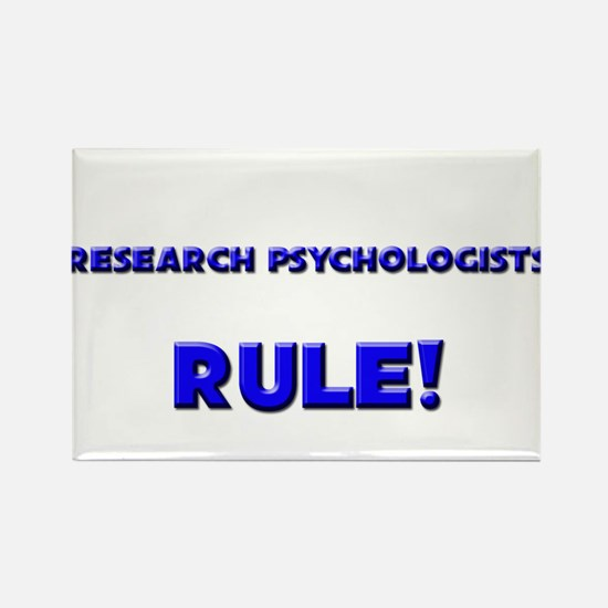 Research Psychologists Rule! Rectangle Magnet