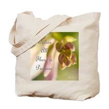 Within All There Is Promise Tote Bag
