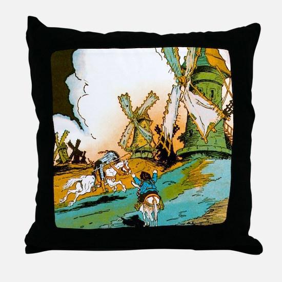 Don Quixote Throw Pillow