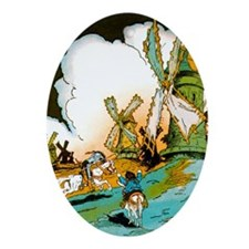 Don Quixote Keepsake (Oval)