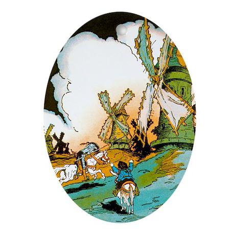 Don Quixote Keepsake (Oval)