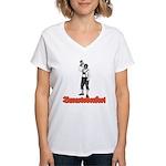Baracktoberfest Women's V-Neck T-Shirt