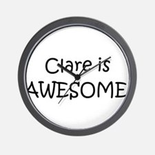 Cute Clare Wall Clock