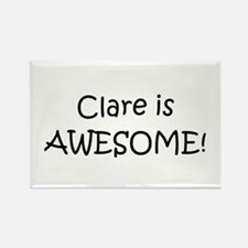 Cute Clare Rectangle Magnet