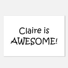 Cute Claires Postcards (Package of 8)
