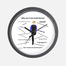 Why Irish Dance - Wall Clock