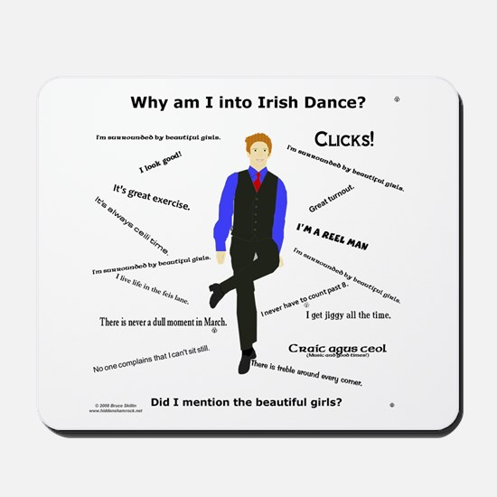 Why Irish Dance - Mousepad