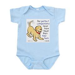 Four Feet (Dog) Infant Creeper