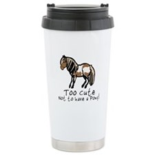 Too Cute Pony Travel Mug