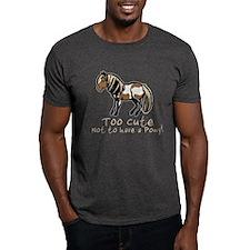 Too Cute Pony T-Shirt