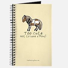 Too Cute Pony Journal