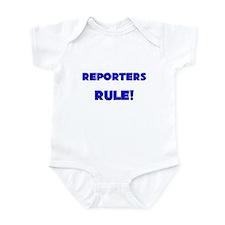Reporters Rule! Infant Bodysuit