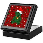Christmas Bear Keepsake Box