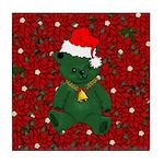Christmas Bear Tile Coaster