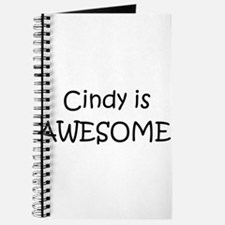 Cute Cindy is awesome Journal