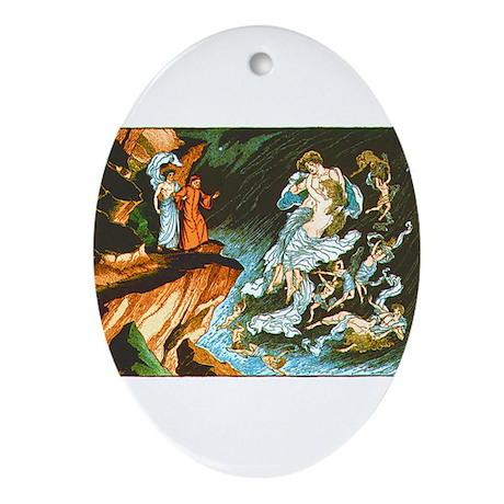 Dante's Inferno Keepsake (Oval)