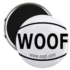 "EAPL - Woof 2.25"" Magnet (100 pack)"