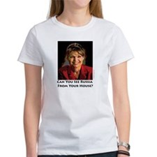 Sarah Palin Can You See Russia Tee