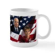 McCain Palin Flag Mug