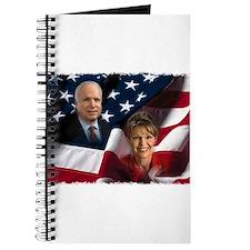 McCain Palin Flag Journal
