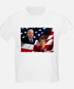 McCain Palin Flag T-Shirt