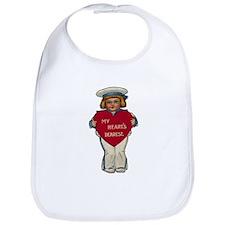 Valentine Sailor Bib