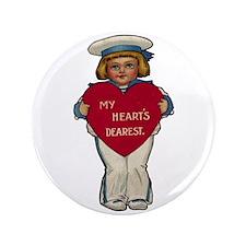 """Valentine Sailor 3.5"""" Button"""